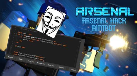arsenal hack aimbot roblox youtube