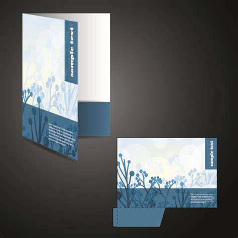folder cover design vector free download darkcolor folder and documents design vector free vector