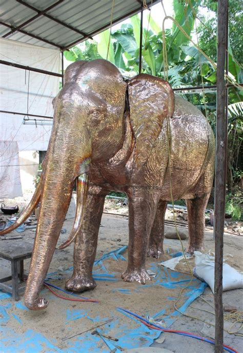 Metal Elephant Garden Ornament by 1000 Images About Elephant Fountains And Sized