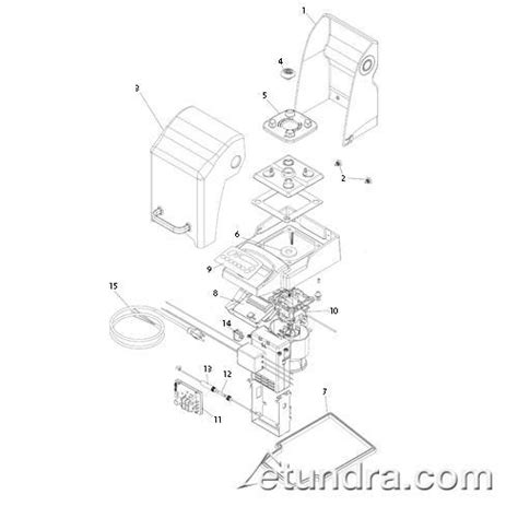 vitamix parts diagram vita mix in counter blending station 174 advance parts etundra