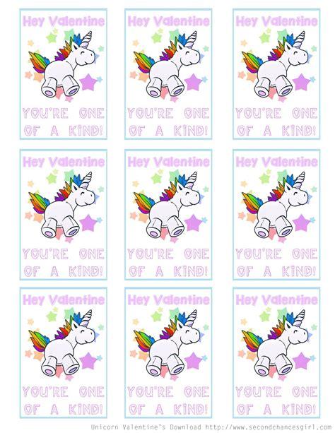 free printable unicorn valentine second chances girl a miami family and lifestyle blog