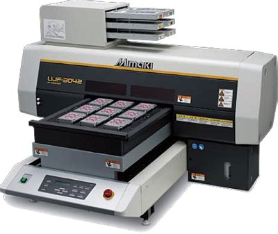 Printer Uv Mimaki mimaki ujf 3042fx uv led curing flatbed inkjet printer
