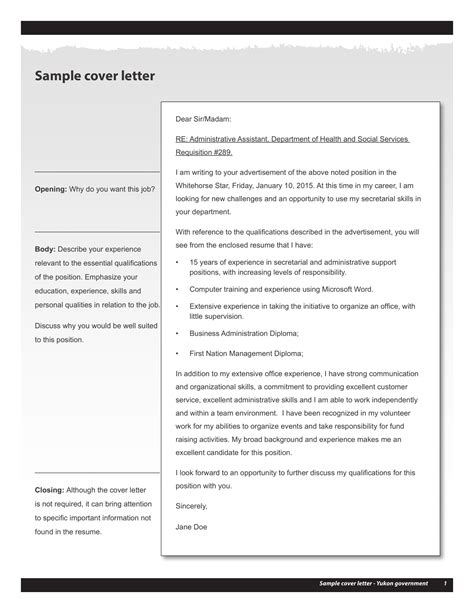 cover letter sample it professional cover letter professional health