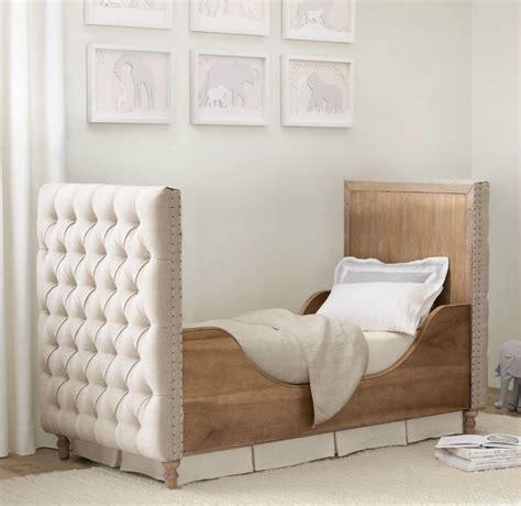 Restoration Hardware Cribs by Tufted Crib From Restoration Hardware Decoist