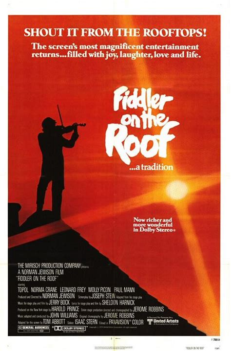 film up on the roof damdaki kemancı fiddler on the roof izle altyazılı