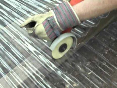 glas schneiden mit flex 6315 kunstoffplatten schneiden