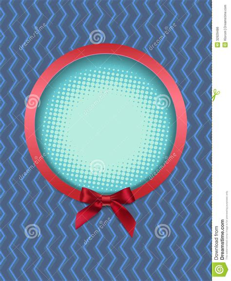 roundhouse stock images royalty free images vectors round frame with bow royalty free stock image image