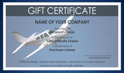 travel gift certificate templates easy   gift certificates