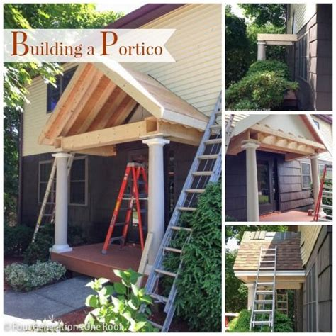 how to add curb appeal with a portico four generations one roof porticos curb appeal and building on pinterest