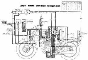 circuit diagram yamaha motorcycle series xs 1 650 61473 circuit and wiring diagram