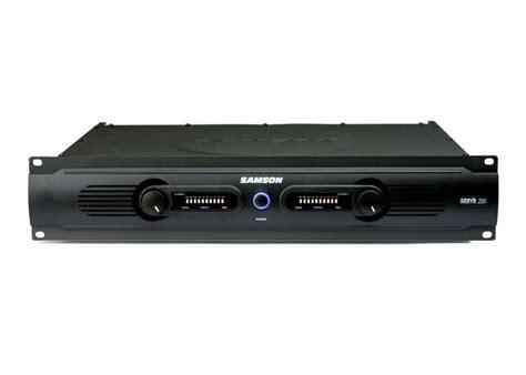 Power Lifier 200 Watt samson servo 200 200 watt stereo power