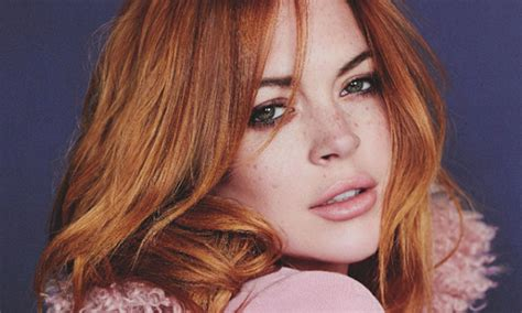 Has Lindsay Far by Lindsay Lohan Editorial In Magazine