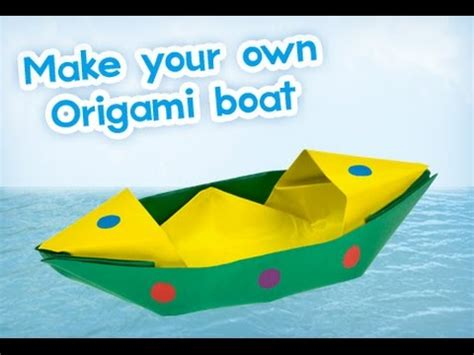 How To Make An Origami Boat That Floats - how to make a paper boat that floats origami ক গজ র ন ক