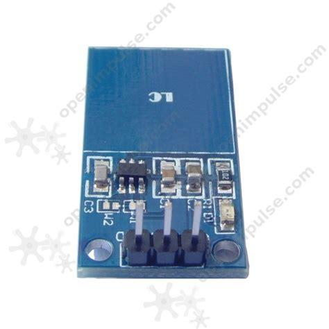 capacitive sensor project ttp223 capacitive touch sensor module open impulseopen impulse