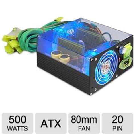 Power Supply 500w Okaya Psu 500 Watt 500 W 1 apevia 500 watt atx dual 80mm led fan black