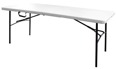 10 Foot Folding Table Table 6 Foot Rectangular Folding Table 30 Inch X 72 Inch 3072f 001 Canada Discount