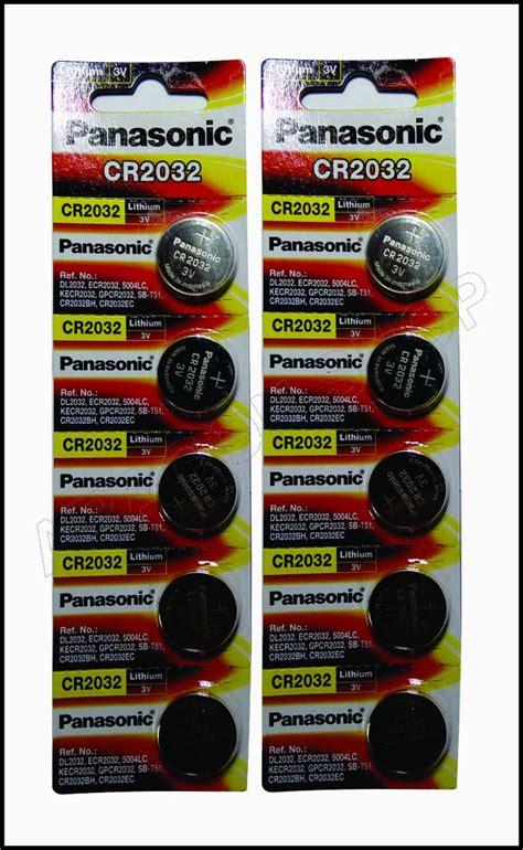 Baterai Panasonic Cr 2 Original bateria lithium 3v panasonic cr2032 original r 19 90 em