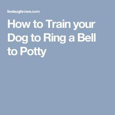 how to your to ring a potty bell 1000 images about pets tips and treats on food your