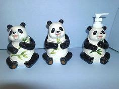 panda bear bathroom accessories 1000 images about i love pandas on pinterest panda