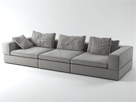 Canapes Soldes 2272 by Sofa 3 Seat Mod 232 Le 3d Flexform