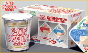 Cup Noodles Goes Refillable by Marketing 3 0 Aug 8 2009