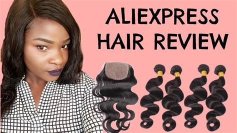 aliexpress hair reviews aliexpress hair review fadzy missy youtube
