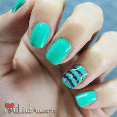imagenes de uñas decoradas verde jade decoracion de u 241 as f 225 cil en verde all intense core