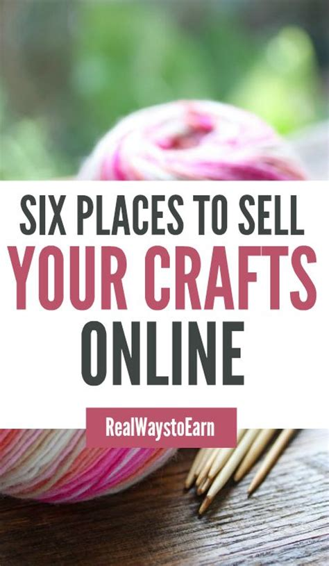 Where To Sell Handmade Items Locally - six places to start selling crafts