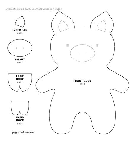 pig template piggy bank coloring page sketch coloring page