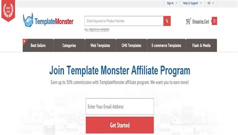 How I Made 450 With Template Monster Affiliate Program Affiliate Program Template