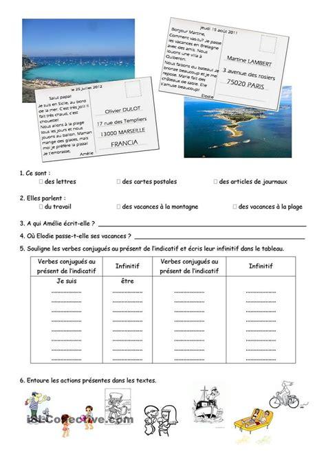 Lettre De Présentation De Société En Anglais Compr 233 Hension Et Expression 233 Crite Carte Postale Fle
