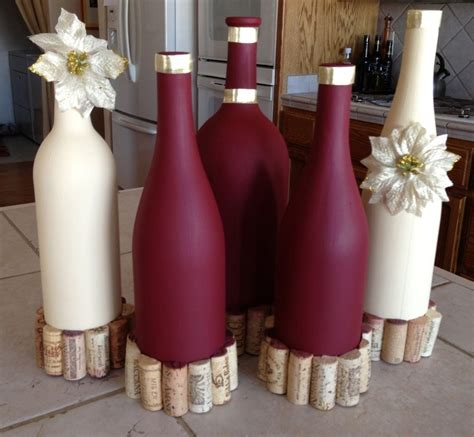 Table Centerpiece Ideas 31 Beautiful Wine Bottles Centerpieces Perfect For Any Table