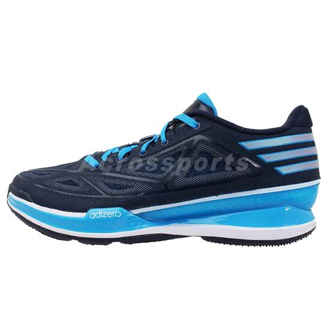 adizero low top basketball shoes adidas adizero light 3 low ricky rubio blue 2014