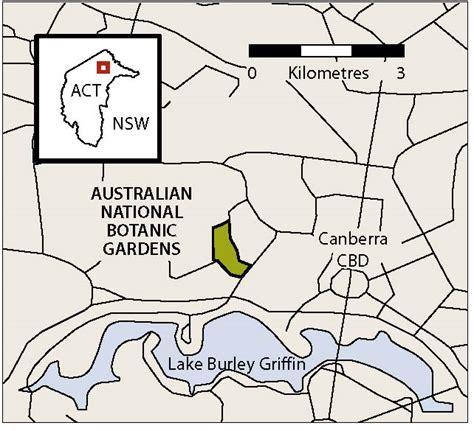 map  national botanic gardens
