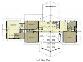 Floor Plans To Build A House 1 Story Log Home Plans Ranch Log Home Floor Plans With Loft Ranch Floor Plans With Loft