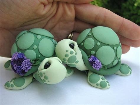 polymer clay turtle www pixshark images galleries