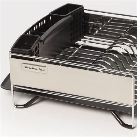Kitchenaid Dish Rack by Kitchenaid Stainless Steel Panel Dish Rack