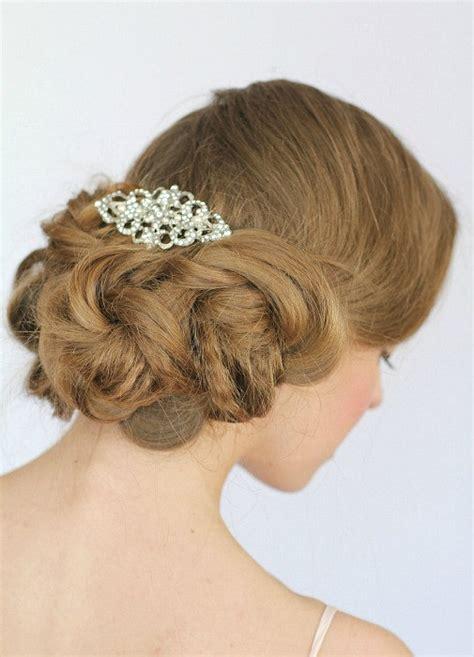 vintage inspired bridal hair combbridal hair clipwedding hair wedding hair comb crystal bridal hair comb vintage