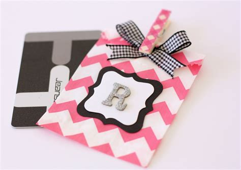how to wrap a gift card a spoonful of sugar - How To Wrap A Gift Card