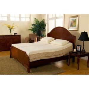 Sleep Number Beds Return Policy Sleep Zone Supreme Adjustable Bed And 10 Inch Hybrid Split