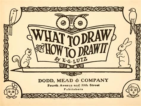 how to draw books pdf page what to draw and how to draw it by e g lutz djvu 9