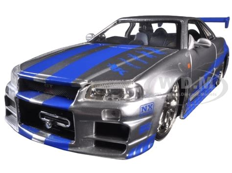 fast and furious 6 brian s skyline brian s nissan skyline gtr r34 quot fast furious quot movie 1