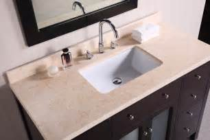 Vanity Top Extends Toilet Adorna 48 Inch Contemporary Single Sink Bathroom Vanity