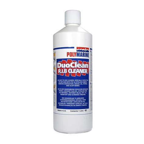 boat cleaner rib duo clean polymarine rib inflatable boat repair