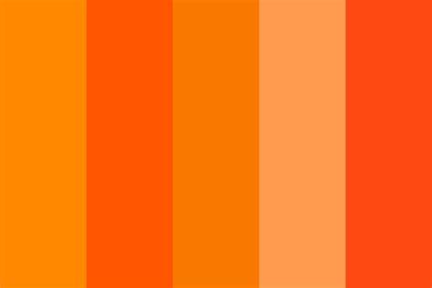 orange hex color oracle orange color palette