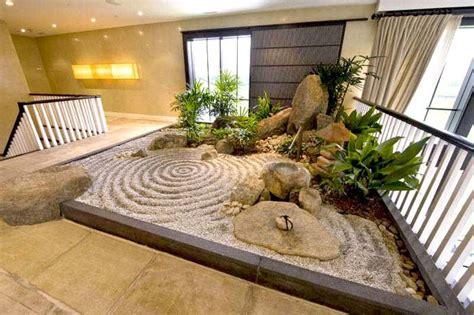 zen gardens asian garden ideas  images indoor zen