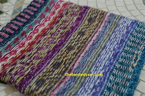 pattern drum in knitting free colourful cowl pattern the twisted yarn