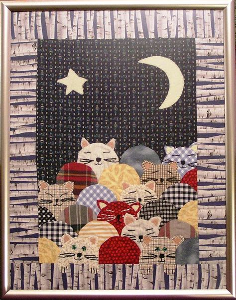Patchwork Cat Pattern - 297 best animal quilts images on
