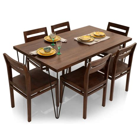 home 6 seater dining set dining table set 6 seater home ideas