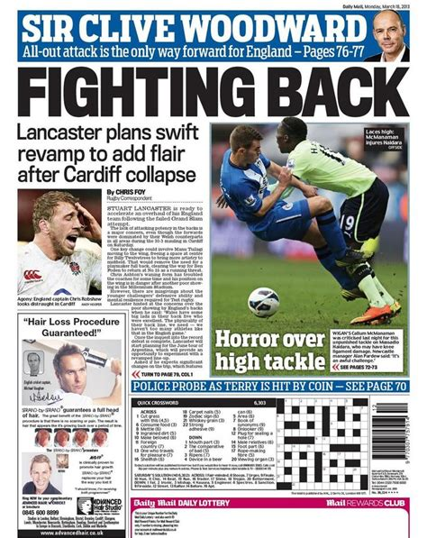 Sport Latest News Pictures And Videos Daily Mail Online | national newspapers backpages gallery manchester evening